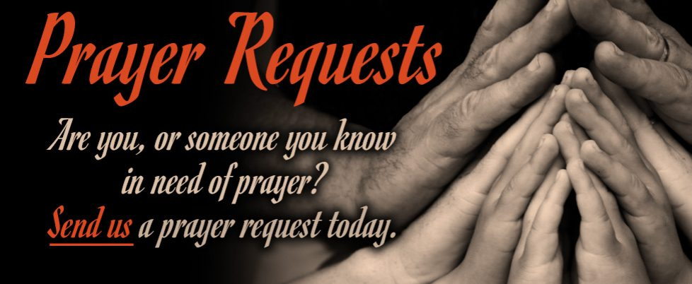 Send us a Prayer Request.