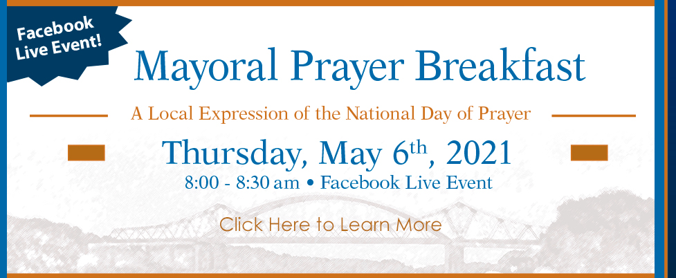 Mayoral Prayer Breakfast Event for May 2021